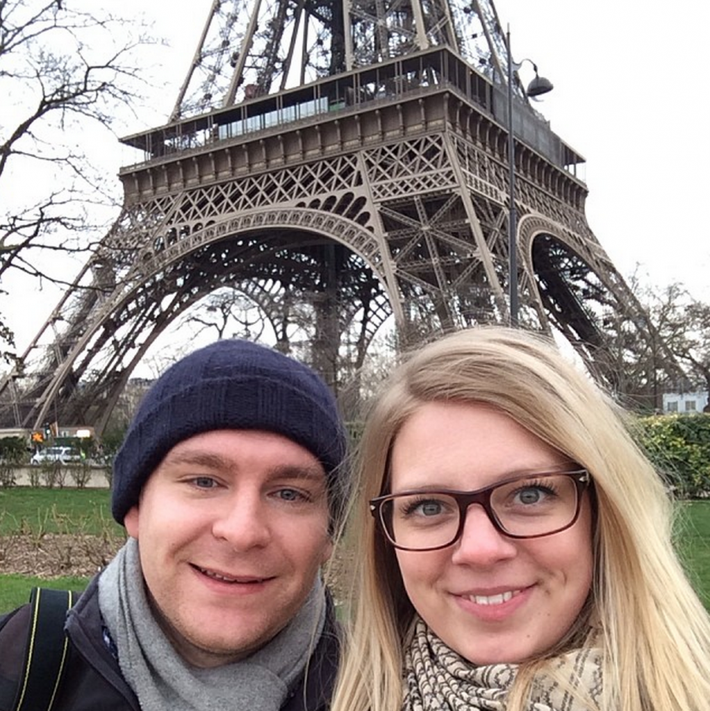 Michael & Ashleigh in Paris- February 2014